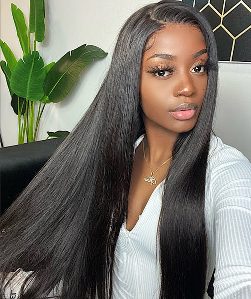 Straight Hair HD Lace Front Wigs