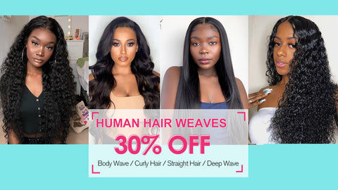 hair weave sale 30% off