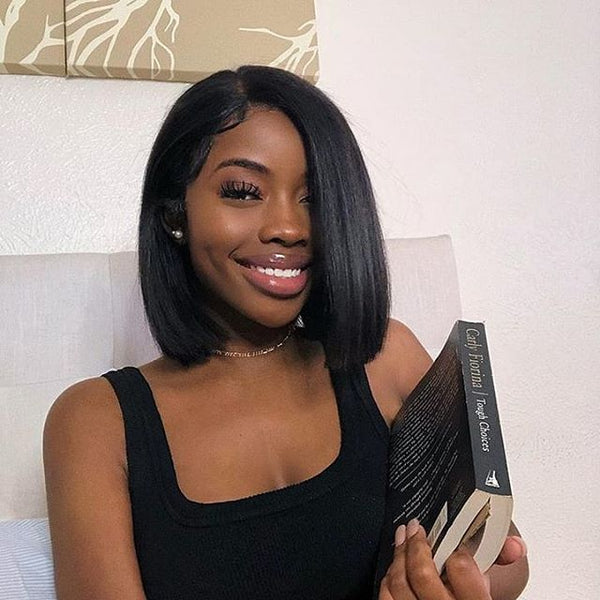 13 by 4 lace front bob wig