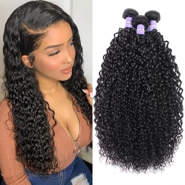 curly remy human hair