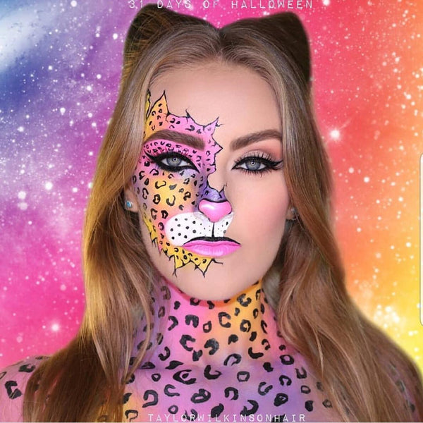 Leopard- Halloween Makeup Idea
