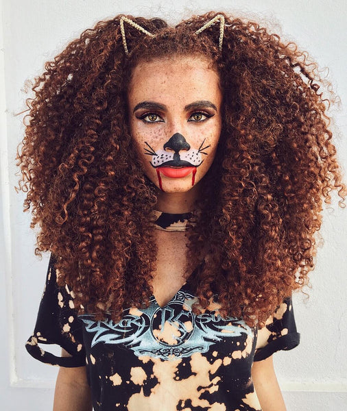 2.Lioness Halloween hairstyle