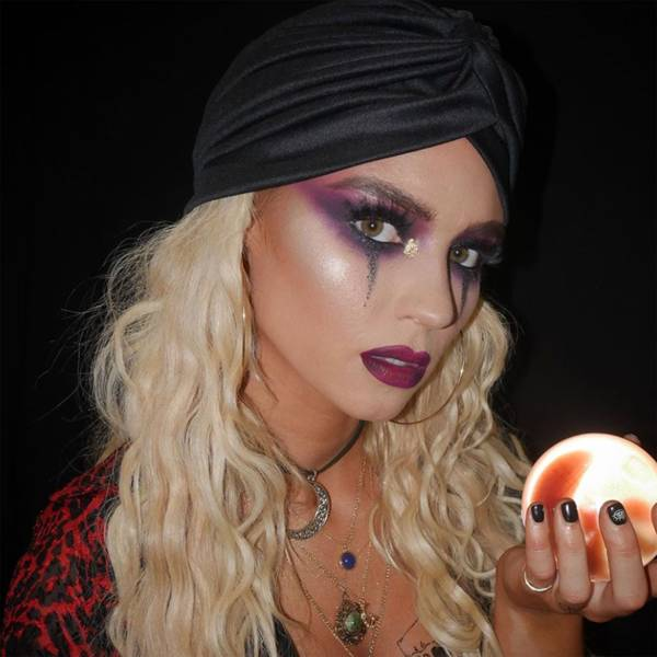 Mystic witch - Halloween Makeup Idea