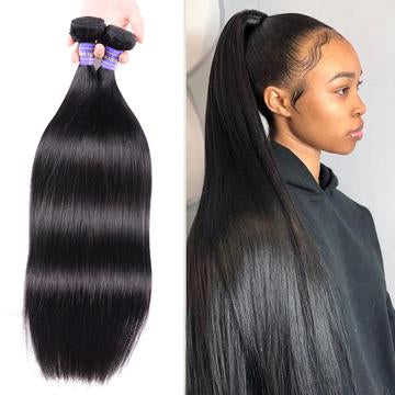 Brazilian straight hair weave
