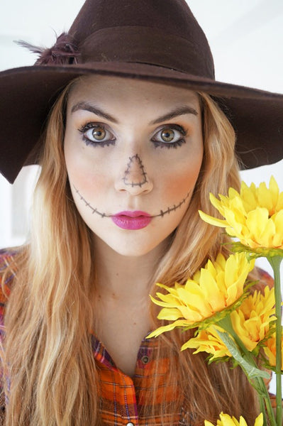 Scarecrow - Halloween Makeup Idea