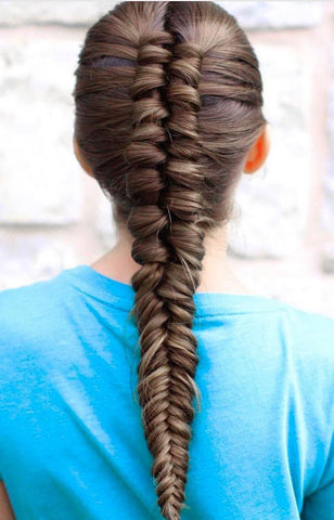 The Reverse Fishtail Braid