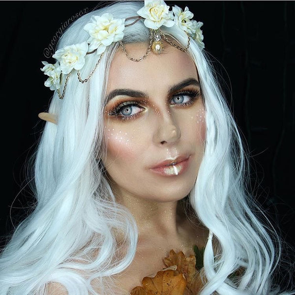 Woodland PIxie-Halloween Makeup Idea