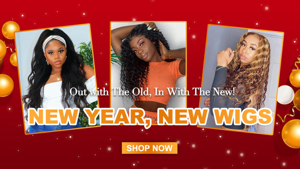 human hair wigs new year big sale