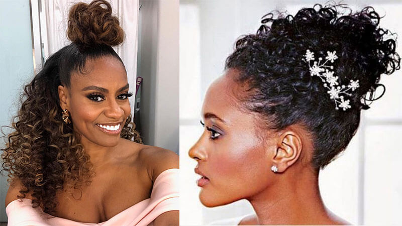 High Updo Wedding Hairstyle for Women