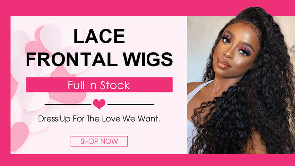 lace front wig full in stock