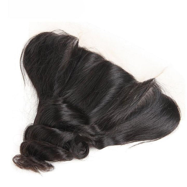 Virgin Loose Wave 13*4 Ear to Ear Lace Frontal 1pcs/lot