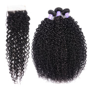 Water Wave Lace Front Human Hair Wigs Brazilian Remy Natural Black 130% Density Lace Wig For Women With Baby Hair Pre-Plucked Bleached - Sunberhair