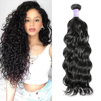 Sunber Remy Human Hair Natural Wave 1 Bundle Double Weft Hair Weave Free Shipping