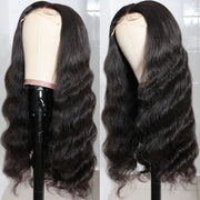 Sunber 5x5 HD Lace Closure Wigs Invisible Transparent HD Lace Body Wave Human Hair Wigs Pre Plucked Baby Hair