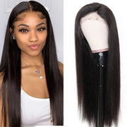 Sunber 9A Grade 13*4 / 13*6 / 360 Lace Front Human Hair Wigs Straight Hair Wig Preplucked Human Hair Wig 150% Density