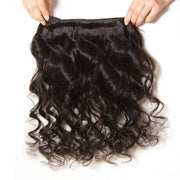Loose Wave Virgin Hair 1 Bundle, 100% Human Hair Peruvian/Malaysian/Brazilian Hair Weaves - Sunberhair