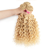 Sunber Hair 1 Bundle 613 Blonde Deep Wave Virgin Human Hair Extension Bundles 10-24 Inch