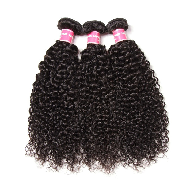 Cheap Malaysian Curly Hair Bundles 3pcs/lot - Good Curly Hair Bundles of Human Hair - Sunberhair
