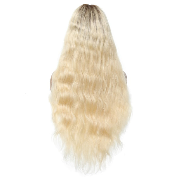 Body Wave T4/613 Color Wig 12-22inch, 100% Remy Human Hair