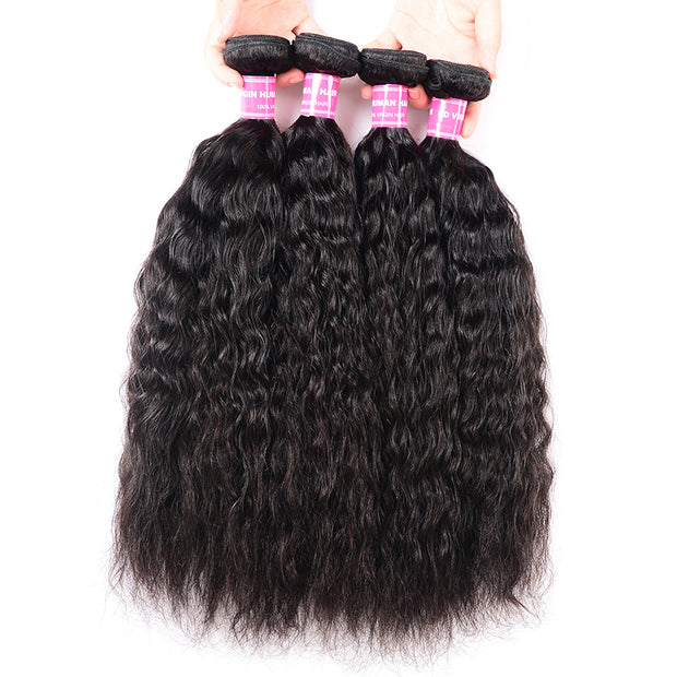 4 Bundles Super Wave Hair 100% Unprocessed Human Hair Weave
