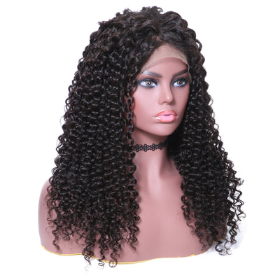 Sunber Hair 360 Lace Wig Curly Hair Human Wig 10-24 Inches