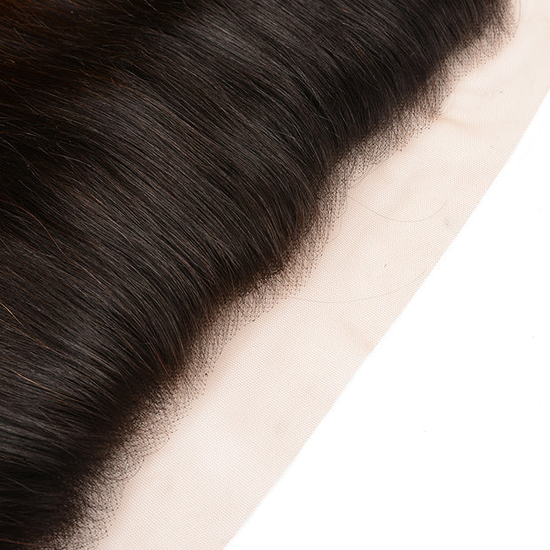Ombre T1B/4/27 13*4 Silky Straight Human Hair Lace Frontal, 100% Human Hair