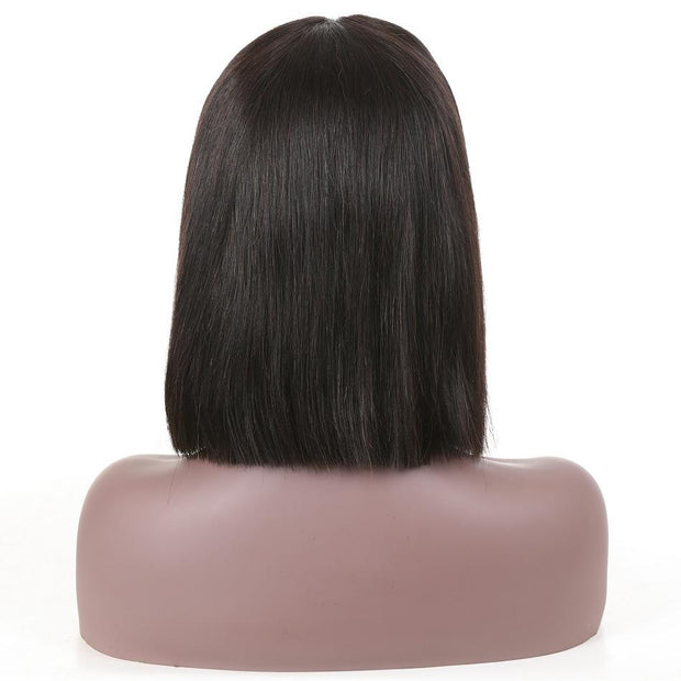 Bob Lace Front Wigs Brazilian Straight Wigs For Black Women Short Bob Wigs Human Hair Middle Part Lace Frontal Wigs - Sunberhair
