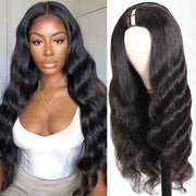 Sunber U Part Wig Body Wave Upgrade 3*1 Size U Part Human Hair Wigs 150% Density Natural Looking Hairline Glueless Wig