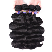 Sunber Hair New Remy Hair Malaysian Body Wave Bundles 4pcs/lot-100% Unprocessed Human Hair
