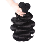 Sunber Hair Body Wave Hair 1 Bundle Peruvian/Malaysian/Brazilian Remy Hair Black Human Hair Bundle 8-30 Inches