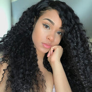 4 Bundles Peruvian Virgin Curly Hair - 100% Unprocessed Peruvian Human Virgin Hair - Sunberhair