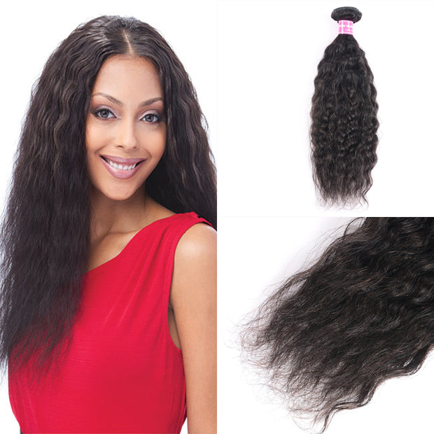 1 Bundle Super Wave Hair Weave 100% Human Hair, 8- 26 Inches