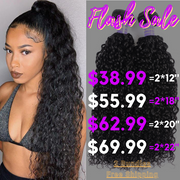 Sunber Instagram Ponytail Flash Sale Remy Human Hair Curly Hair 2 Bundles Can Make a Fashion Ponytail Free Shipping