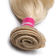Sunber Hair 613 Blonde Virgin Human Hair Extension Body Wave Bundles 16-24 Inch 1PCS