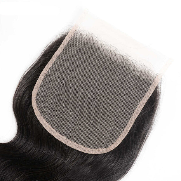 Sunber Hair Body Wave 5X5 Transparent Lace Closure 8-18 inch 100% Human Hair HD Closure