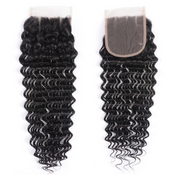 Sunber Affordable Remy Human Hair 4*4 Lace Closure Bulk Order For Wholesale Business 3pc/5pc/8pc Swiss Lace Closures Free Shipping