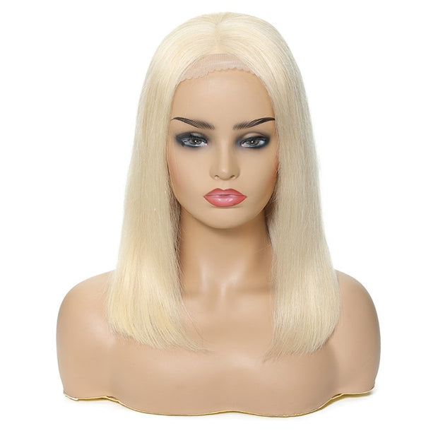 Sunber 613 Blonde Color Straight Bob Wig 100% Human Hair For Women 13x4 and 13x6 Lace Frontal 150% Density Human Hair Wig