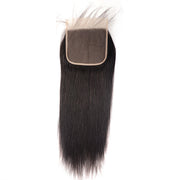 1PC Free Part 6*6 Straight Lace Closure , Brazilian/Peruvian/Malaysian/Indian Hair