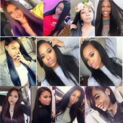Virgin Malaysian Straight Hair 4 Bundles,  7A Unprocessed 100% Human Hair Weaves Hair - Sunberhair