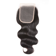 Sunber 1 piece 4*4 Transparent Lace Closure Body Wave Free Part