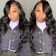 Sunber Hair Affordable Brazilian Body Wave Hair 3 Bundles, 8A Cheap Brazilian Human Hair Weave