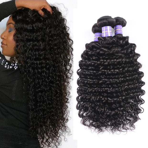 $105.55= 5 Bundles Cheapest Factory Price Flash Sale For Wholesaler Business 5pc / 10pc Hair Bundles Deal