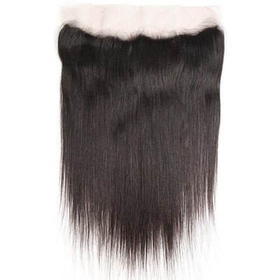 Virgin Straight Hair Lace Frontal, 13*4 Ear to Ear Frontal, Peruvian/Malaysian/Brazilian Hair, 1pcs - Sunberhair