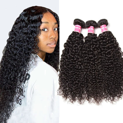 Sunber Hair Malaysian Curly Hair Bundles 3pcs/lot - Good Curly Hair Bundles of Human Hair