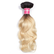 Sunber Hair 1 Bundle T1B/613 Body Wave Bundle 10'-20' 100% Human Hair Weave
