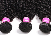 3 Bundles Brazilian Kinky Curly Hair Bundles On Sale 100% Human Hair