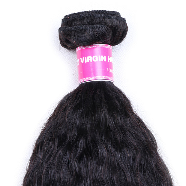 Sunber Hair 1 Bundle Kinky Straight Human Hair Weaves  On Sale  100% Human  Hair