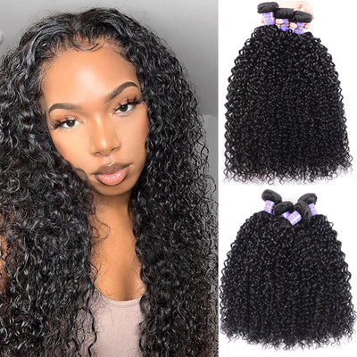 Sunber Affordable Remy Human Hair Curly Hair Bulk Order For Wholesale Business 5pc/10pc Hair Bundles Free Shipping