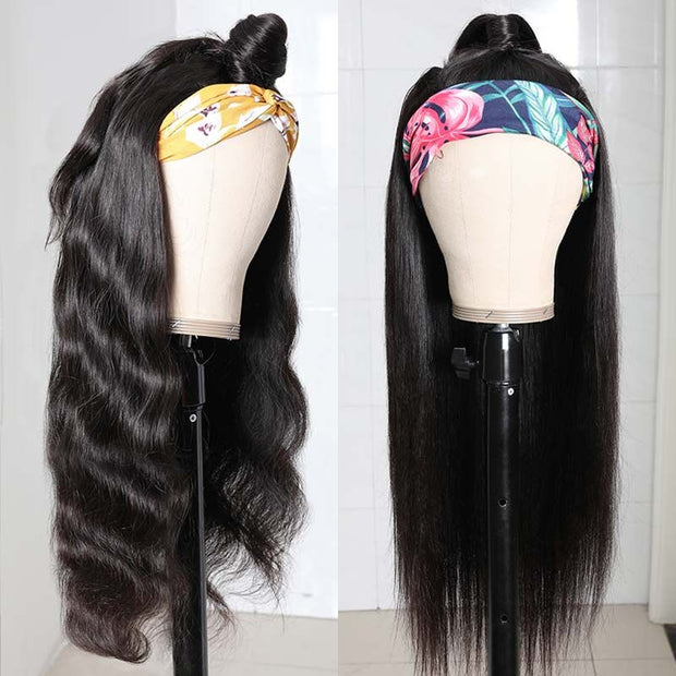 BOMB Price Low to $55.55 for Glueless Headband Wigs 150% Density Flash Sale