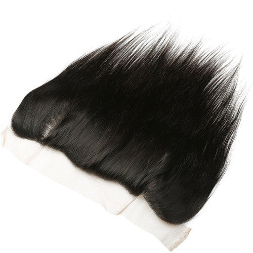 Brazilian Virgin Straight Hair 3 Bundles with 13*4 Ear to Ear Lace Frontal - 7A Sunber Hair - Sunberhair